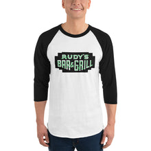 Load image into Gallery viewer, St. Patrick's Day 3/4 sleeve raglan shirt - Rudys Bar & Grill