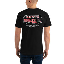 Load image into Gallery viewer, Pig + Neon Sign Hell's Kitchen T-Shirt - Rudys Bar & Grill