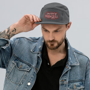 Neon Sign 5 Panel Camper Hat - Rudys Bar & Grill
