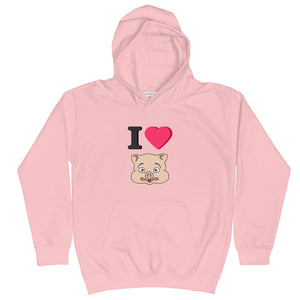 I love Pig Hoodie - Rudys Bar & Grill