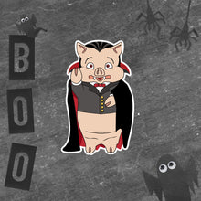 Load image into Gallery viewer, Dracula Pig Sticker - Rudys Bar & Grill