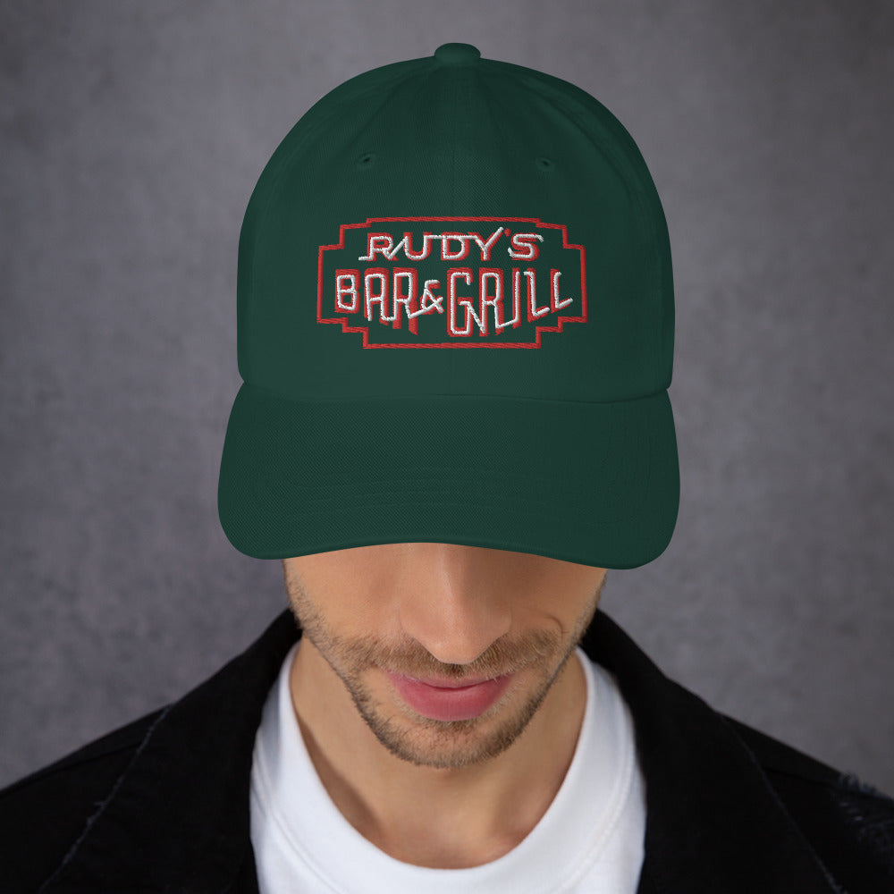 ST. Patricks Day Green Neon Sign Hat - Rudys Bar & Grill