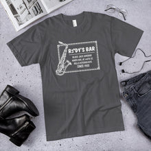Load image into Gallery viewer, Classic Jazz Saxophone T-Shirt - Rudy's Bar & Grill
