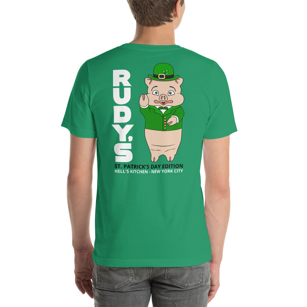 Classic St. Patrick's Day T-Shirt - Rudys Bar & Grill