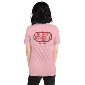 Cupid Pig + Valentine's Neon Sign Shirt - Rudys Bar & Grill