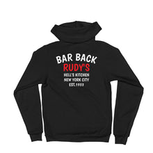 Load image into Gallery viewer, Bar Back Zip Hoodie - Rudys Bar & Grill