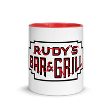 Load image into Gallery viewer, Neon Sign Color Inside Mug - Rudys Bar & Grill