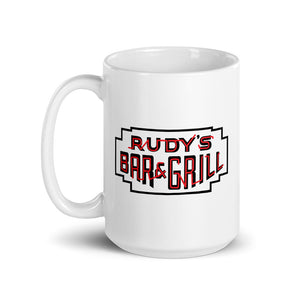 Pig + Neon Sign Mug - Rudys Bar & Grill
