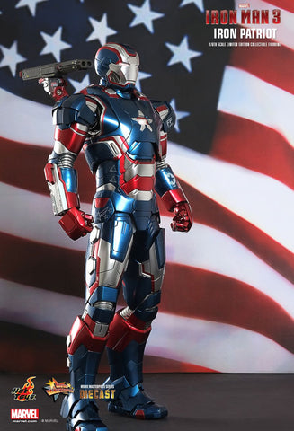 [PRE-OWNED]Iron Man 3 - Iron Patriot 1/6 Scale Limited Edition