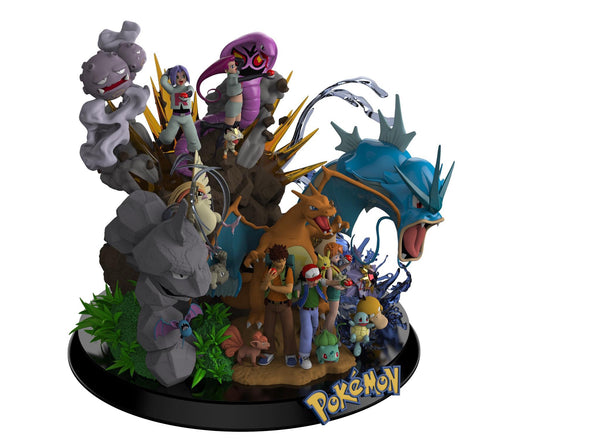 [PREORDER]My Unique Statue Series - Pokemon(Early Bird PO)