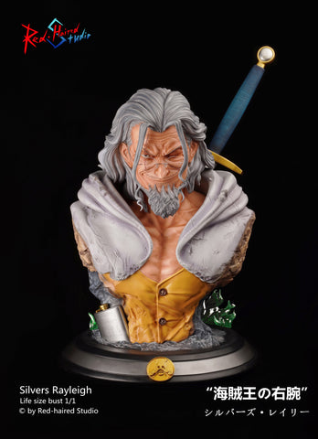 [PREORDER]1/1 Scale Life Size Bust Series - Silvers Rayleigh
