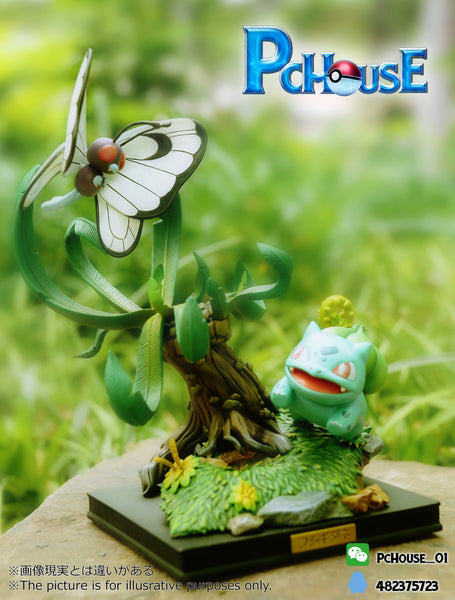[PREORDER]Bulbasaur & Butterfree