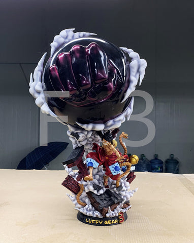 [IN STOCK]Gear 3rd Luffy with Busoshoku Haki Special Coating Ver.