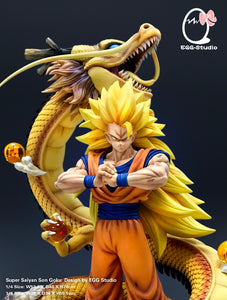 [PREORDER]Shenron Goku 1/4th Scale Yellow Ver.