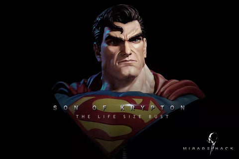 [PREORDER]1/1 Scale Life Size Superman Bust