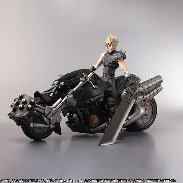 [IN STOCK]PS4 Final Fantasy 7 Remake 1st Class Edition Cloud Strife & Hardy Daytona(figure only)