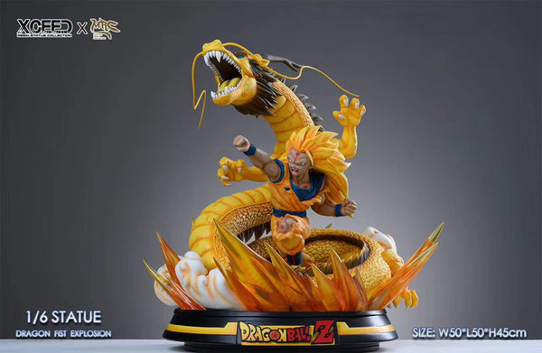 [PREORDER]Dragon Fist Goku SSJ3 1/6th Scale
