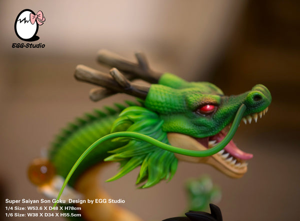 [PREORDER]Shenron Goku 1/4th Scale Green Ver.