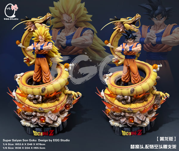 [PREORDER]Shenron Goku 1/6th Scale Yellow Ver.