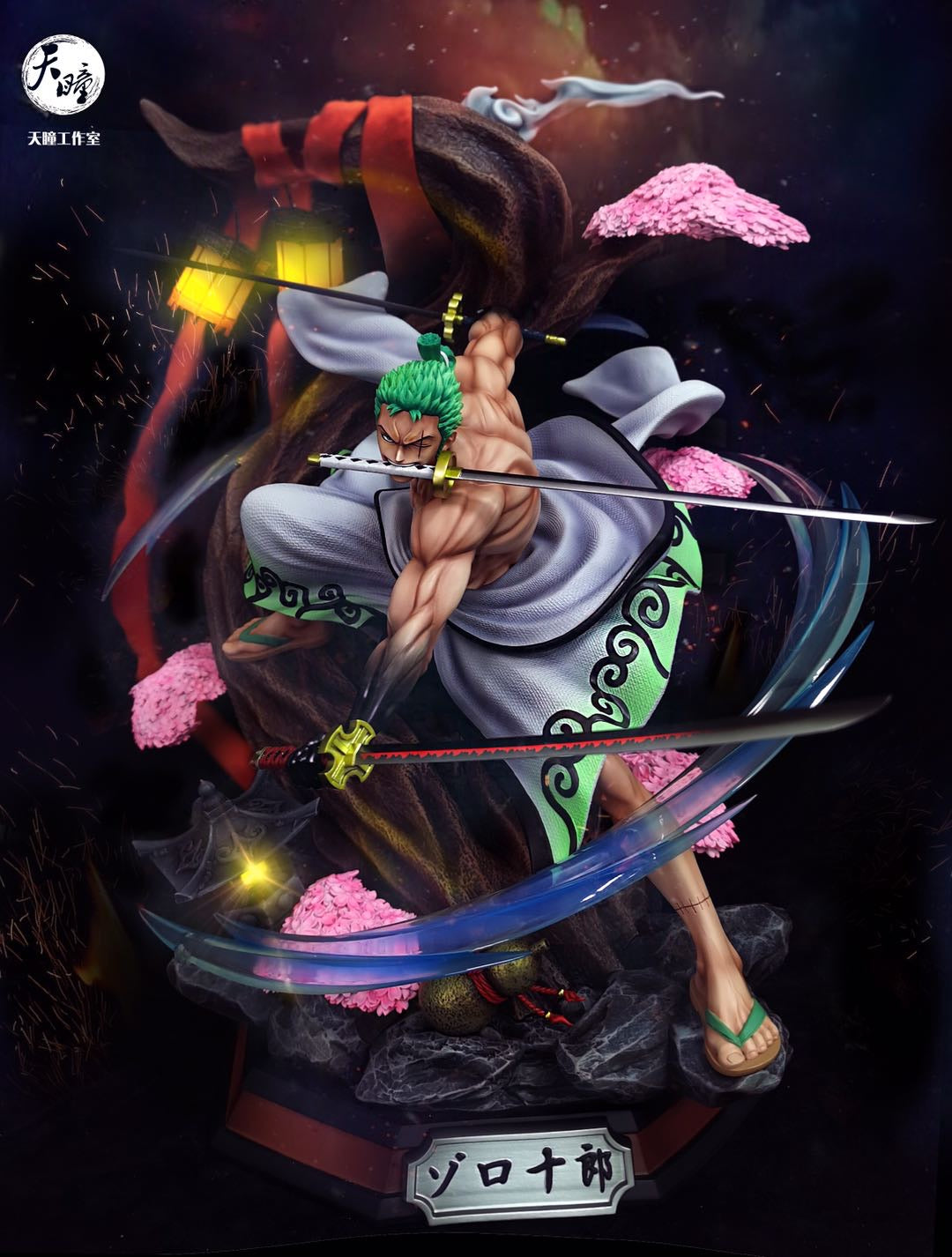 [PREORDER]Wano Zoro 1/4th Scale