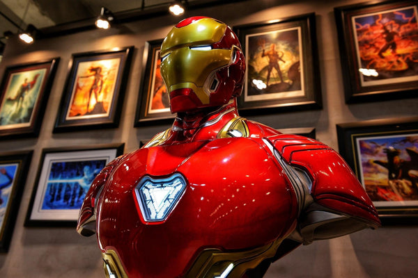 [PREORDER]Life-Size 1/1 Scale Iron Man Mark 50 Bust Regular Ver.