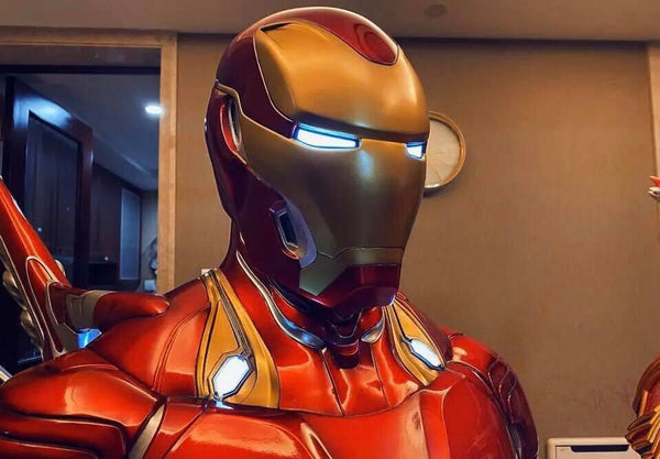 [PREORDER]Life-Size 1/1 Scale Iron Man Mark 50 Bust Battle Damaged Ver.