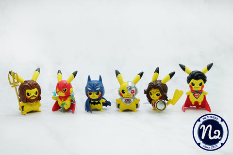 [PREORDER]Pokemon x DC - Pikachu x Justice League
