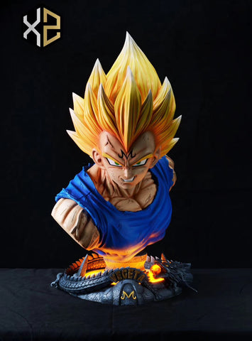 [PREORDER]1/1 Scale Life-Size Majin Vegeta Bust