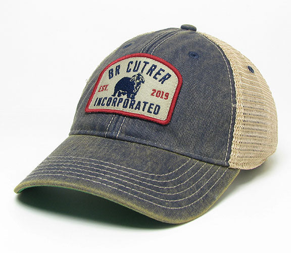 BR Cutrer, Inc. - Denim 2019 Cap with Bull