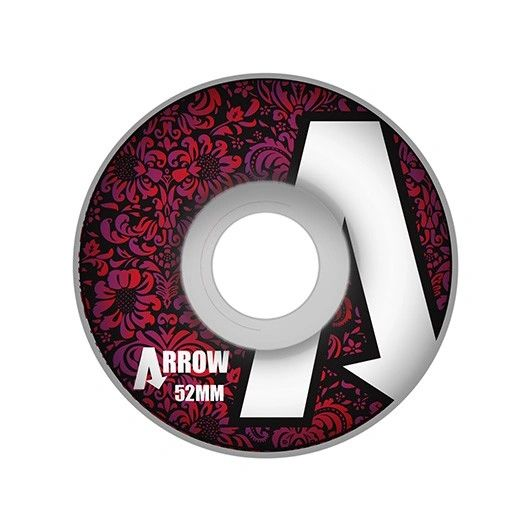 Arrow Floral Logo 101a 52mm Wheels