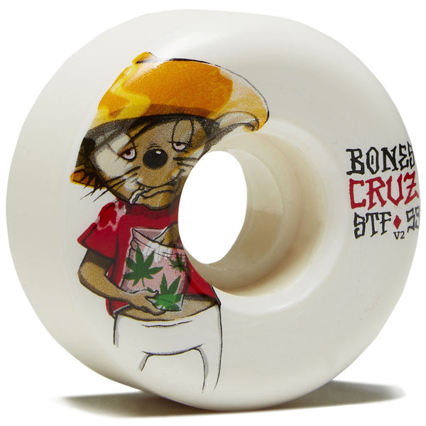 Bones cruz weedy  53mm Wheels streetech v2
