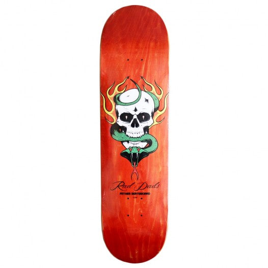FSC Flames, Skulls & Cobra 8.375 Deck - Yellow Stain