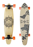 Gold Coast Longboards Kicktail Longboard - Wanderlust Edition