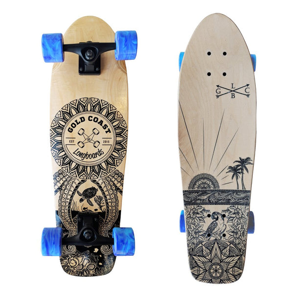 Gold Coast Longboards Cruiser - Wanderlust Edition