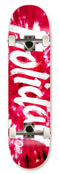 Holiday Skateboards Tie Dye Cherry 7.75 Complete