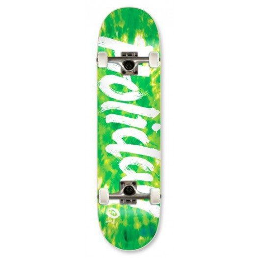 Holiday Skateboards Tie Dye Green 8.0 Complete