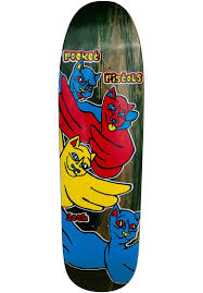 Pocket Pistols Cats Deck 8.75""