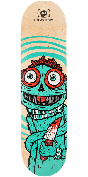 Program Eddies Knife Teal Deck 8.375
