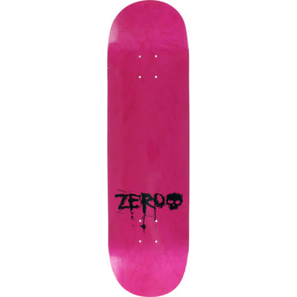 Zero Blood Mini Logo Pink 8.5 x 32.3 Deck