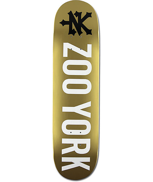 Zoo York Photo Incentive Gold 8.0 Deck