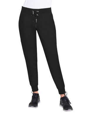 Black 7710 Jogger Yoga Pant Med Couture Lavie Scrubs