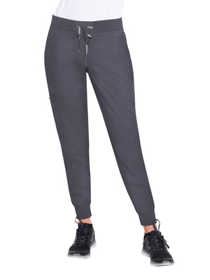 Pewter 7710 Jogger Yoga Pant Med Couture Lavie Scrubs
