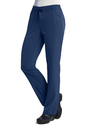 Navy Maevn's Pure Ladies Modern Yoga Pants Lavie Scrubs