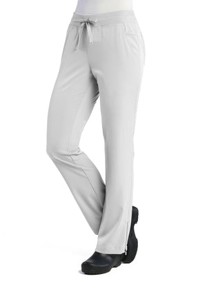 White Maevn's Pure Ladies Modern Yoga Pants Lavie Scrubs