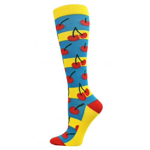 Cherries Fashion Compression Socks