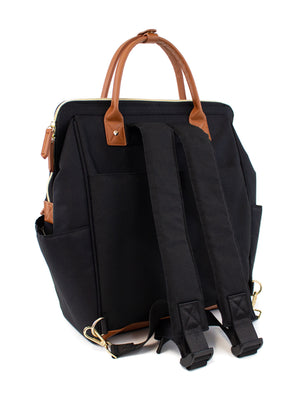 Black Maevn Ready Go Clinical backpack lavie scrubs