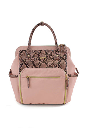 Pink Maevn Ready Go Mini backpack Lavie Scrubs