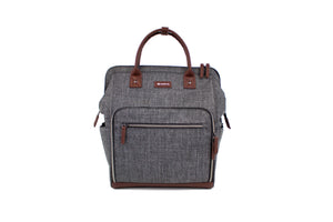 Heather gray Maevn Ready Go Clinical backpack lavie scrubs