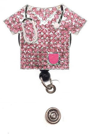 Dazzle Retractable Badge Reel - Scrub Top Lavie Scrubs