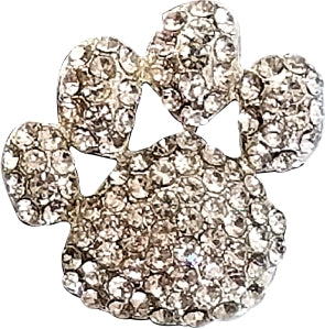 Sparkle Retractable Badge Reel - Paw